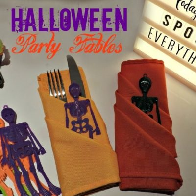 Halloween Fun and ways to Decorate your Table