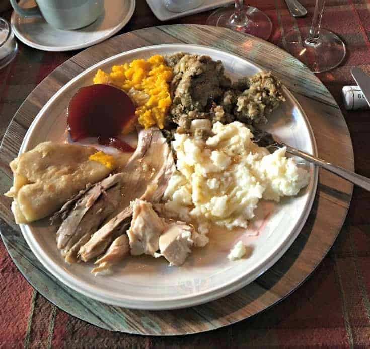 Thanksgiving Dinner, turkey and the works