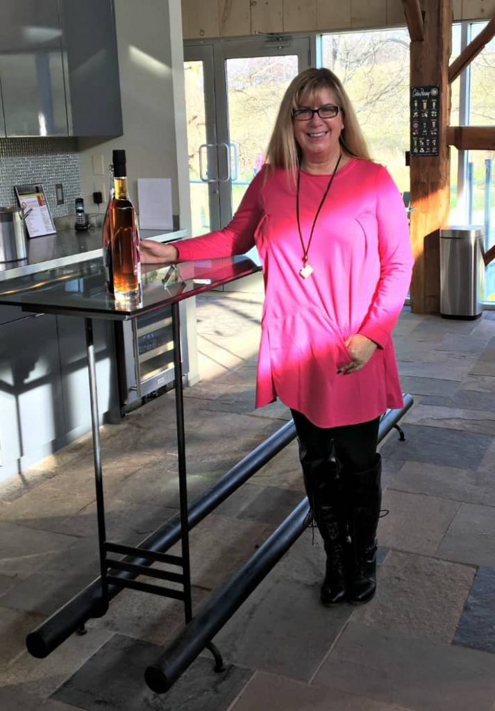 New Chic Fuschia Tunic and leggings with Shoe dazzle OTK boots at BV Cider