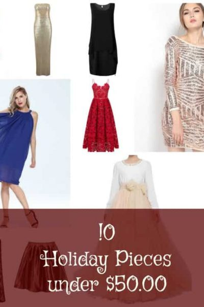 10 Perfect Pieces to celebrate the Holidays