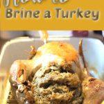 turkey brine how to