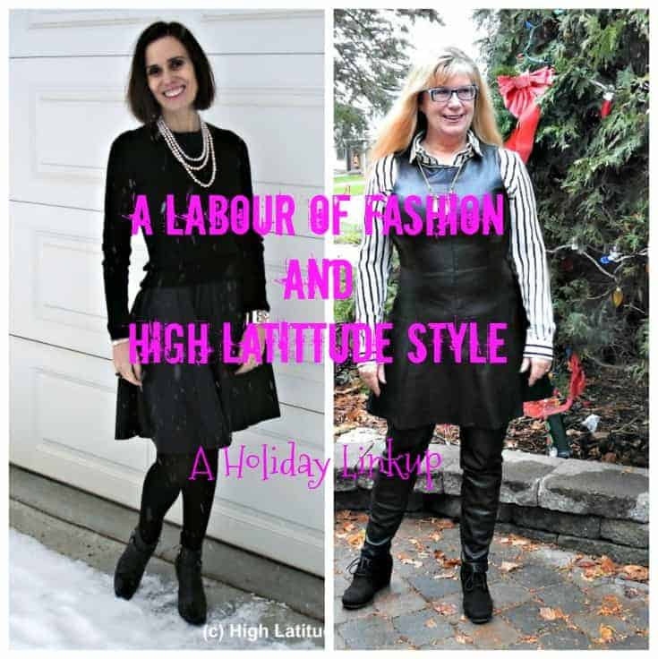 Top of the world and a labour of fashion linkup