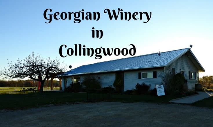 Georgian winery in Collingwood