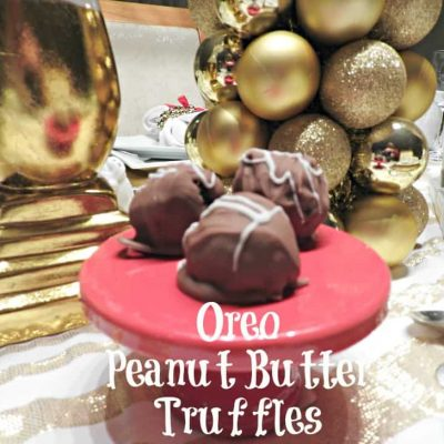 Valentine's Day and Homemade Peanut Butter OREO Truffles