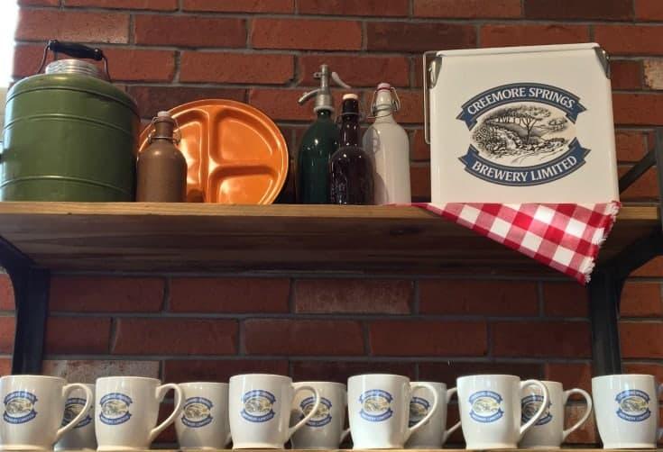 Creemore Springs merchandise
