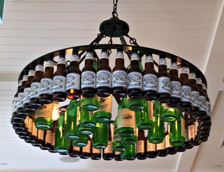 Creemore Springs Beer Chandelier