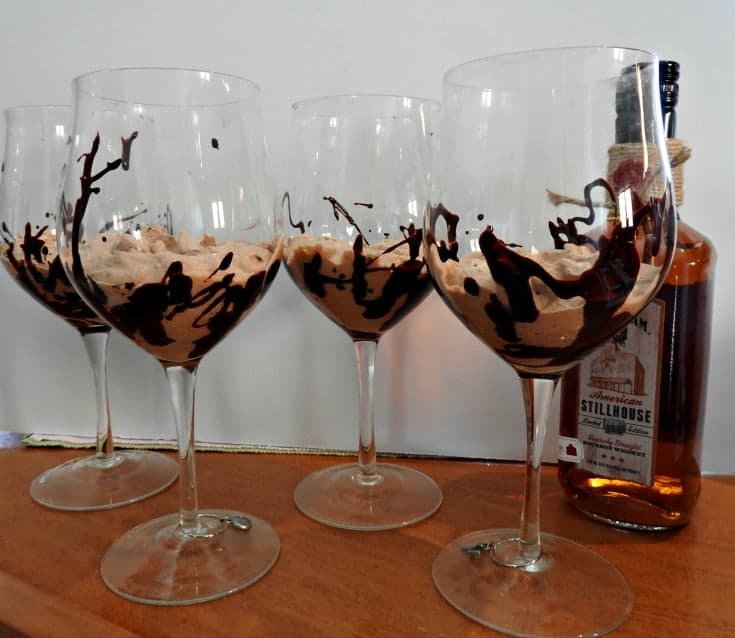 made with whipped cream this Bourbon Chocolate Mousse with chili chocolate will be a hit at your next dinner party