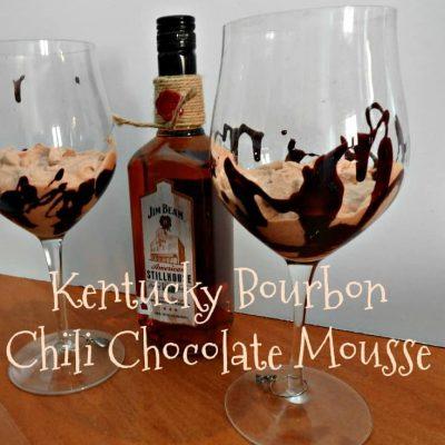Kentucky Bourbon Chili Chocolate Mousse