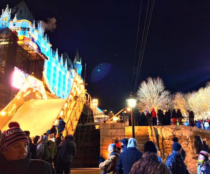 Chateau Laurier and the Red Bull Crashed Ice in March 2017
