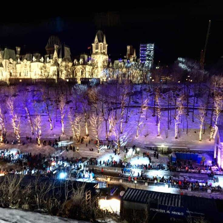 Parliament and Red bull crashed Ice
