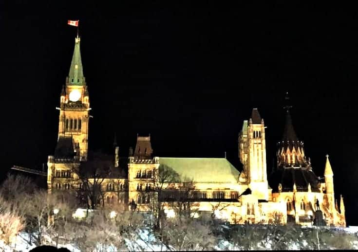 Red Bull Crashed Ice and Parliament in Ottawa