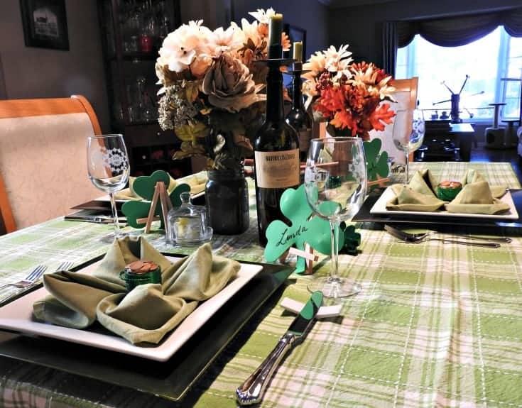 shamrocks for St Patricks day