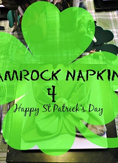Shamrock Napkins for St Patricks Day