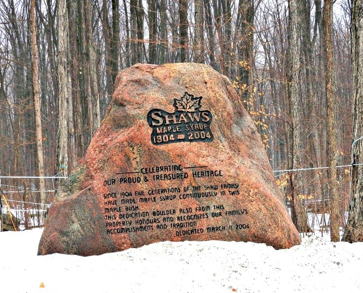 Shaws Sugar Bush