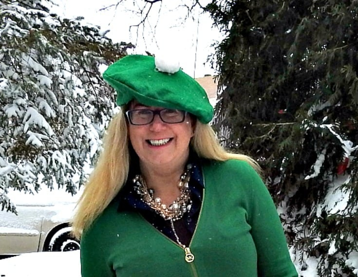 celebrating St Patrick's Day outfits with Michael Kors