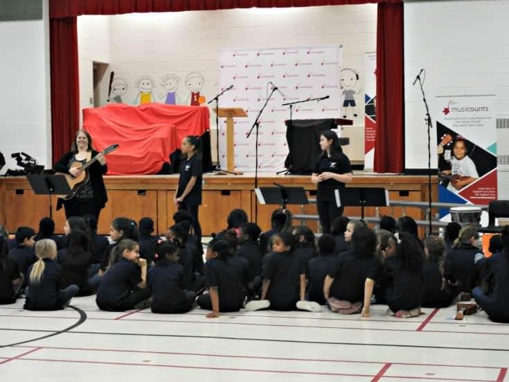 musicounts attends St Elizabeth Elementary