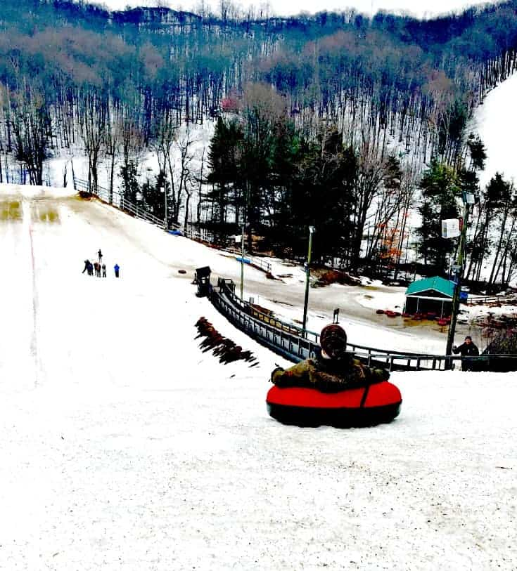 tubing at Horseshoe resort