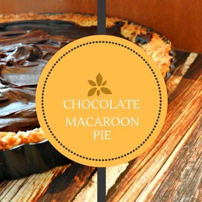 Homemade Chocolate Macaroon Pie