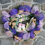hoppy Easter Decomesh wreath