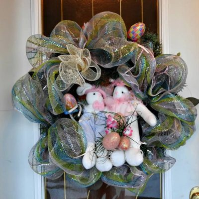 Door Wreath for Easter Celebrations