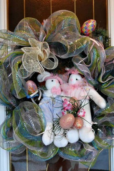 Easter Door Wreath for The Holidays