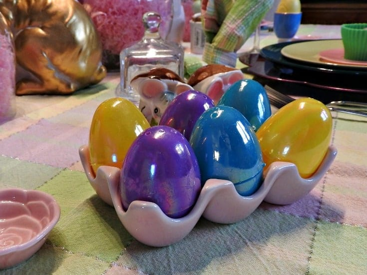ceramic egg holder for easter