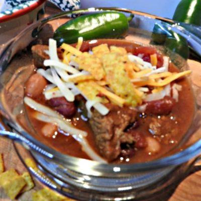 Texas Style Beef Chili