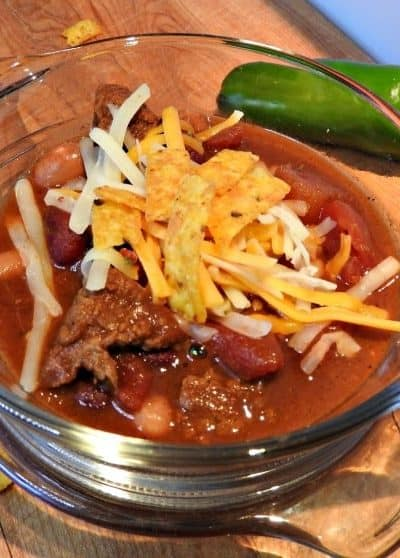 Texas Style Beef Chili Recipe