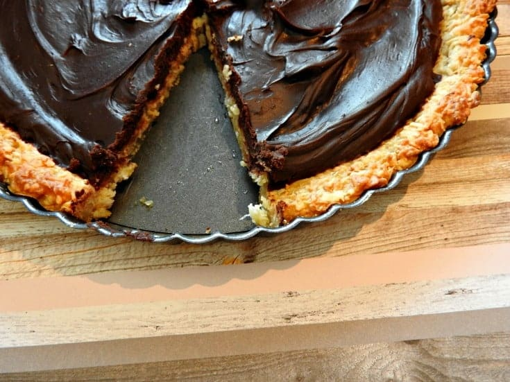 homemade chocolate macaroon pie Chocolate Macaroon Pie - It's the perfect mixture of decadent chocolate and coconut
