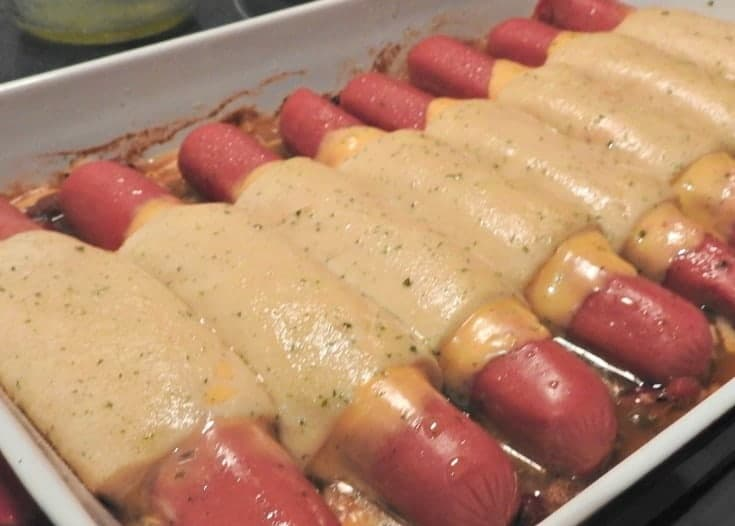 hot dog recipe with Chili Cheese Hot Dog Croissant