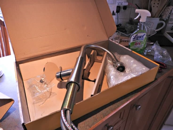 Home depot kitchen renovation with a new kitchen faucet