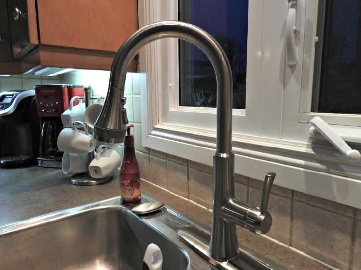 american standard kitchen renovation with a new kitchen faucet