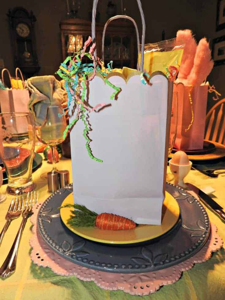 lilac Easter bag