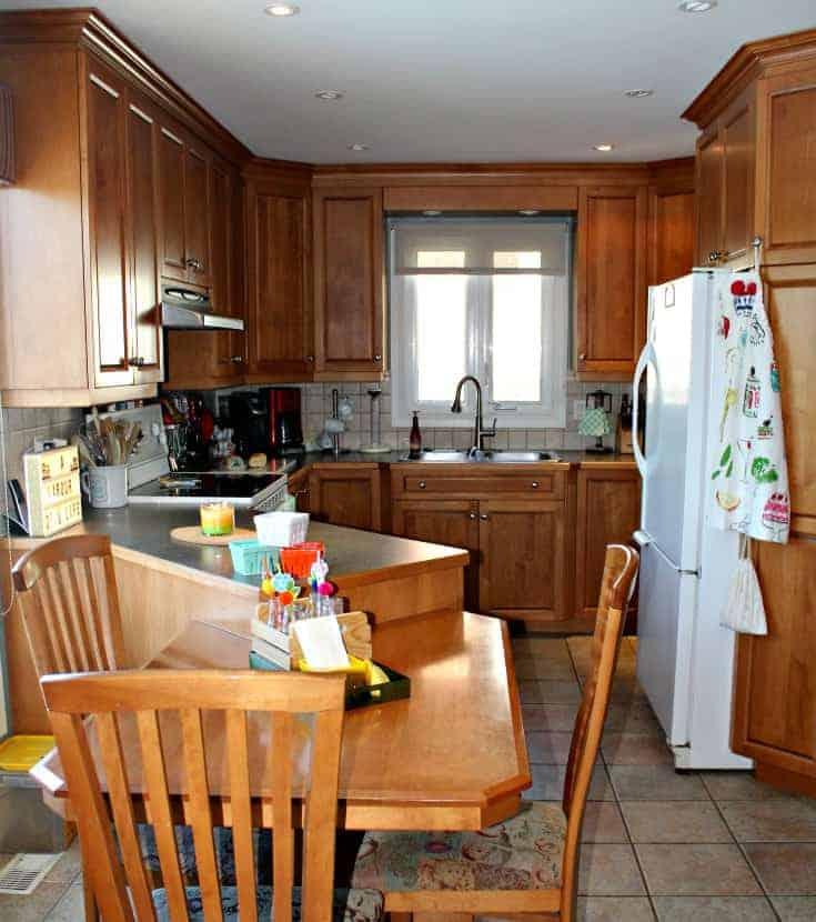 mini renovation in my kitchen