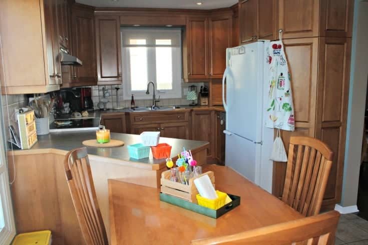 my mini kitchen renovation with home depot