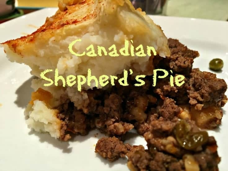 An easy dinner for winter nights Canadian Shepherd's Pie with a twist