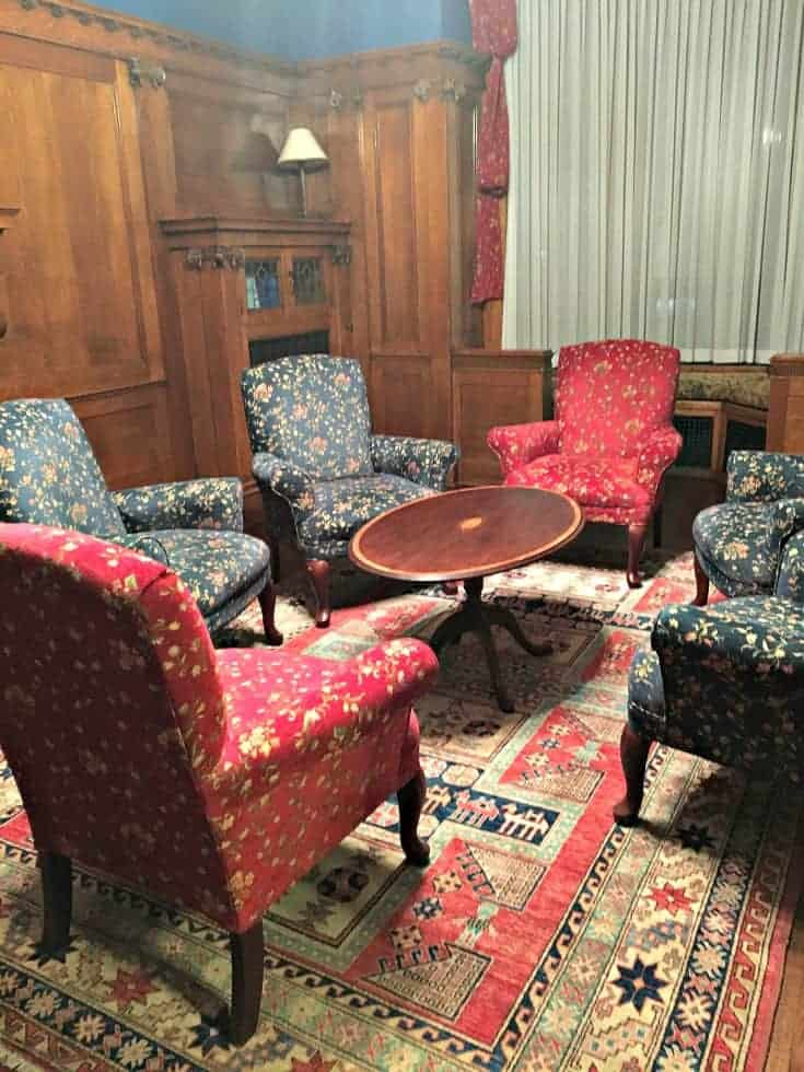 Parlour at the czech Embassy