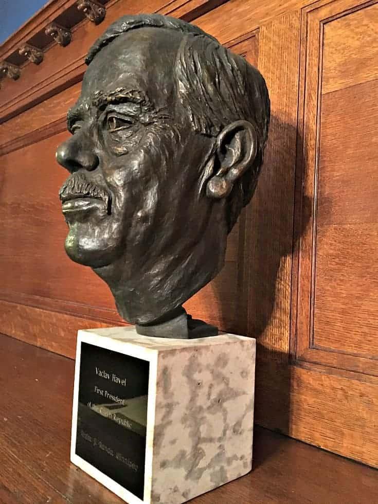 bust at the czech embassy