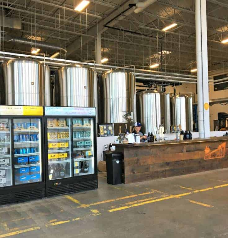 inside Side Launch Brewery