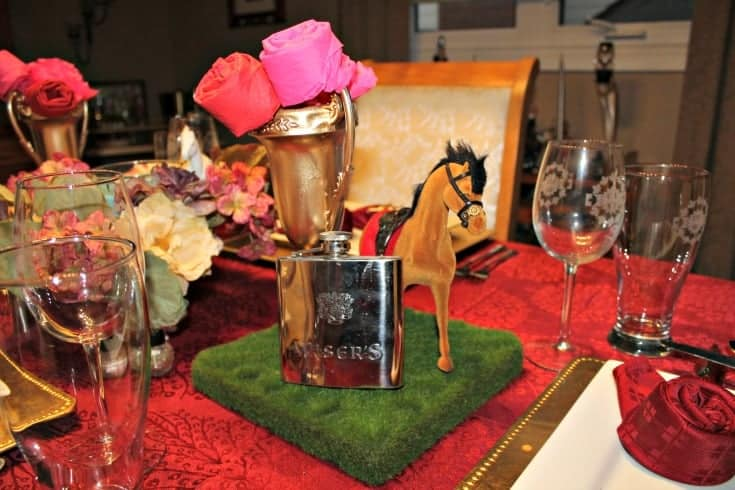 Kentucky Derby Centrepiece