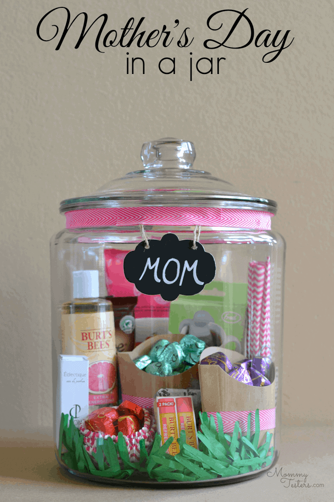 mothers day in a jar