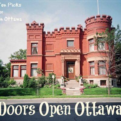 Ottawa Doors Open 2017 and Linda's Top 10 Picks