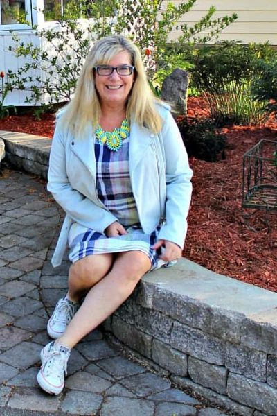 Blogging Mistakes and a Plaid Dress