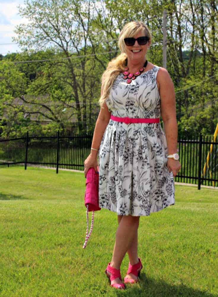 wedding Attire for an Afternoon wedding in Laura, Kate Spade and 7 Charming Sisters