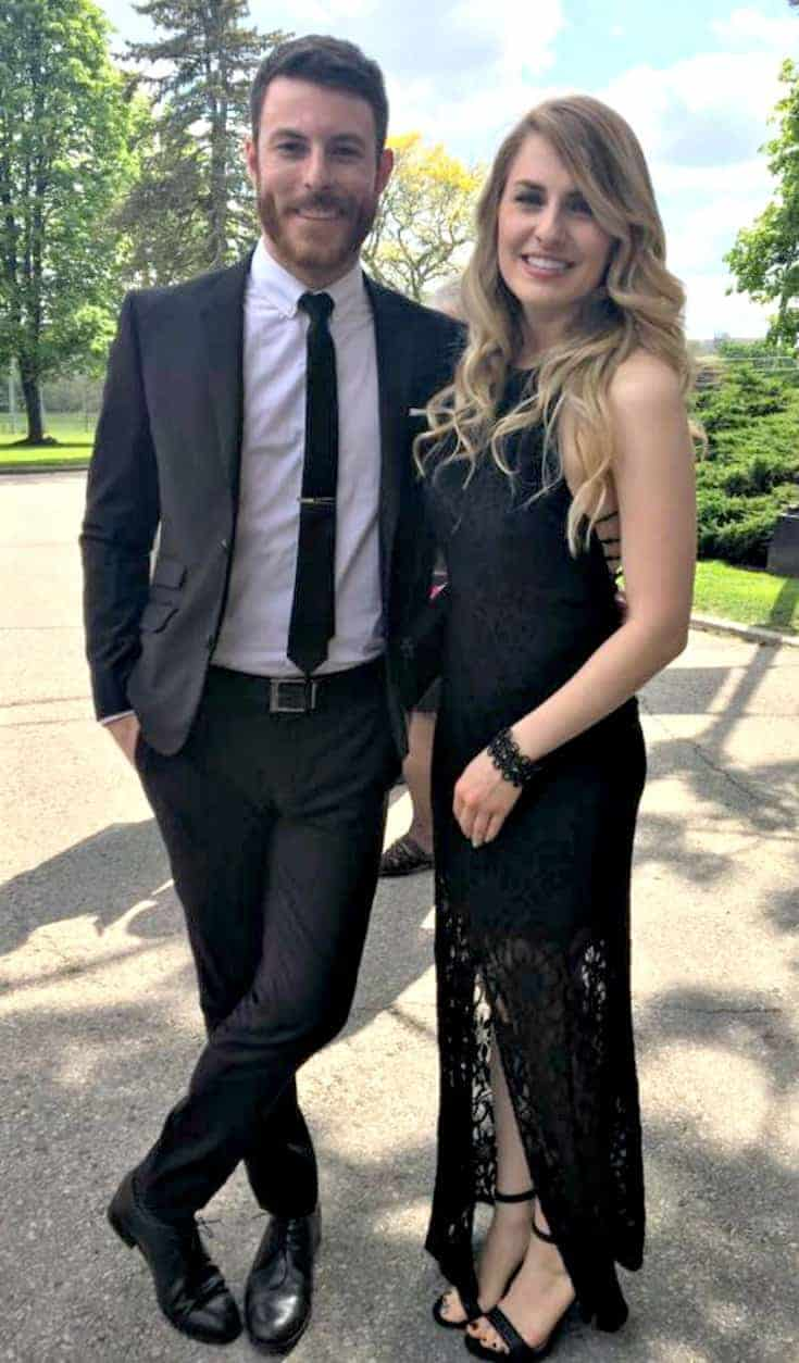 wedding Attire for an Afternoon wedding in RW & Co and Le Chateau