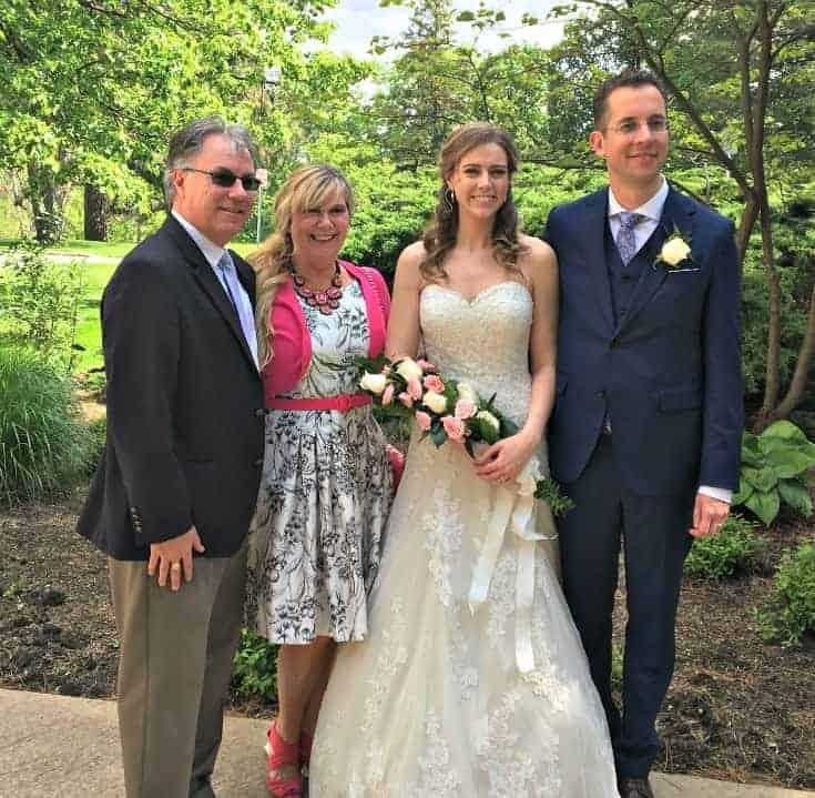 wedding Attire for an Afternoon wedding