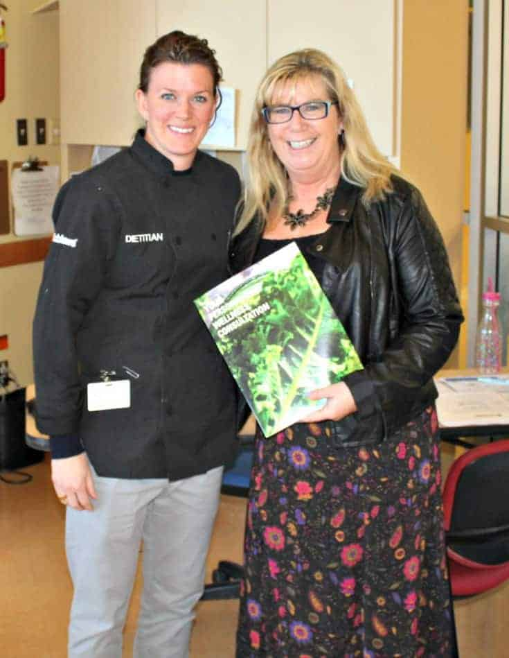 meeting with the Loblaws dietitian