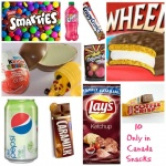 10 only in Canada Snacks you need to try
