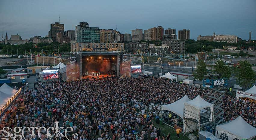 Ottawa Bluesfest by Steve Gerecke