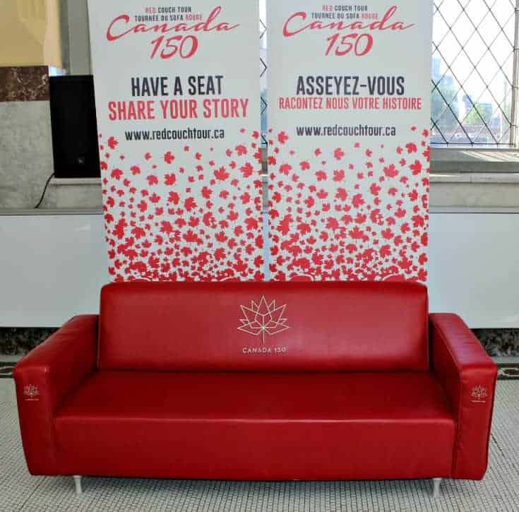 have a seat on the Red Couch and Share your Story